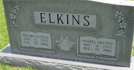 ALEXANDER ELKINS, THELMA LUCILLE - Cannon County, Tennessee | THELMA LUCILLE ALEXANDER ELKINS - Tennessee Gravestone Photos
