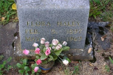 HALEY, FLORA - Cannon County, Tennessee | FLORA HALEY - Tennessee Gravestone Photos