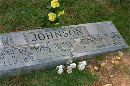 DAVIS JOHNSON, DOROTHY JEAN - Cannon County, Tennessee | DOROTHY JEAN DAVIS JOHNSON - Tennessee Gravestone Photos