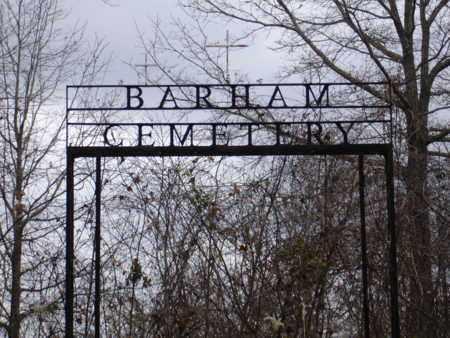 *BARHAM CEMETERY,  - Carroll County, Tennessee |  *BARHAM CEMETERY - Tennessee Gravestone Photos