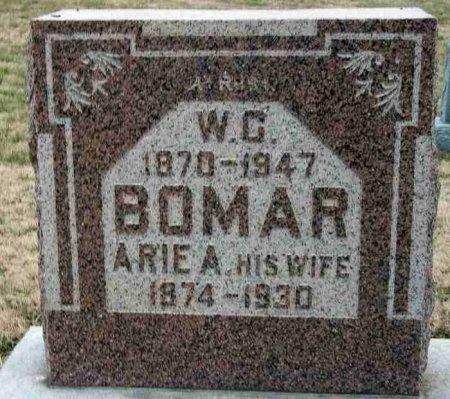 LEACH BOMAR, ARIE A. - Carroll County, Tennessee   ARIE A. LEACH BOMAR - Tennessee Gravestone Photos
