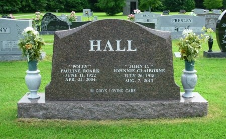 "ROARK HALL, PAULINE ""POLLY"" - Carroll County, Tennessee 