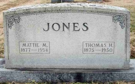 "LEACH JONES, MATILDA M. ""MATTIE"" - Carroll County, Tennessee 