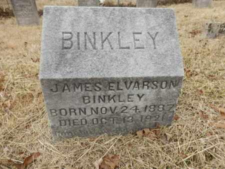 BINKLEY, JAMES ELVARSON - Cheatham County, Tennessee   JAMES ELVARSON BINKLEY - Tennessee Gravestone Photos