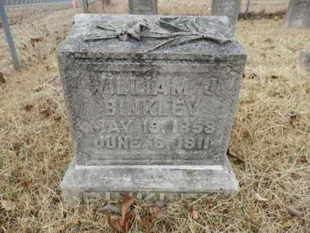 BINKLEY, WILLIAM J. - Cheatham County, Tennessee | WILLIAM J. BINKLEY - Tennessee Gravestone Photos