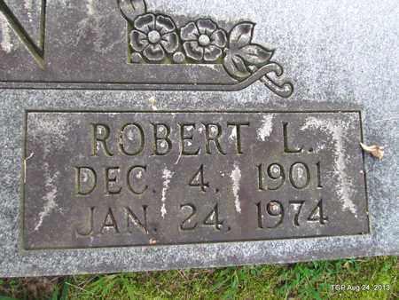 DUNN, ROBERT L. (CLOSE UP) - Cheatham County, Tennessee   ROBERT L. (CLOSE UP) DUNN - Tennessee Gravestone Photos