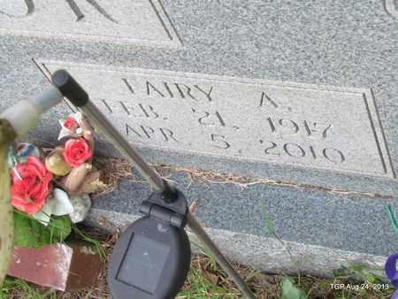 TAYLOR, FAIRY A.(CLOSE UP) - Cheatham County, Tennessee | FAIRY A.(CLOSE UP) TAYLOR - Tennessee Gravestone Photos