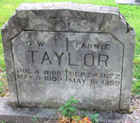 TAYLOR, G. W. - Cheatham County, Tennessee | G. W. TAYLOR - Tennessee Gravestone Photos