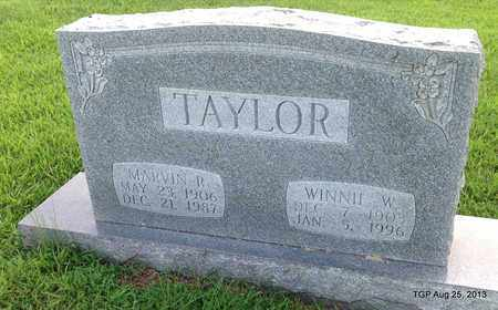 TAYLOR, WINNIE W - Cheatham County, Tennessee | WINNIE W TAYLOR - Tennessee Gravestone Photos