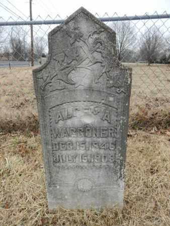 WAGGONER, ALGEN A - Cheatham County, Tennessee | ALGEN A WAGGONER - Tennessee Gravestone Photos