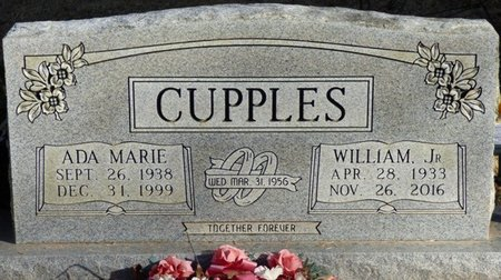 CUPPLES JR., WILLIAM - Chester County, Tennessee | WILLIAM CUPPLES JR. - Tennessee Gravestone Photos