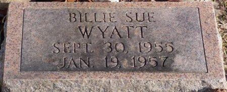 WYATT, BILLIE SUE - Chester County, Tennessee | BILLIE SUE WYATT - Tennessee Gravestone Photos