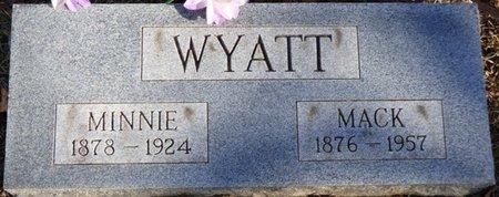 WYATT, MACK - Chester County, Tennessee | MACK WYATT - Tennessee Gravestone Photos