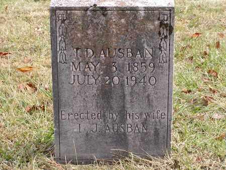AUSBAND, I. D. - Claiborne County, Tennessee | I. D. AUSBAND - Tennessee Gravestone Photos