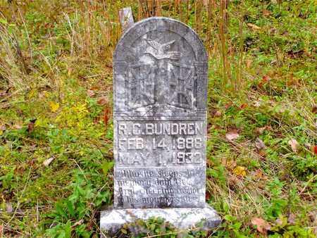 BUNDREN, ROBERT CLEVELAND - Claiborne County, Tennessee | ROBERT CLEVELAND BUNDREN - Tennessee Gravestone Photos