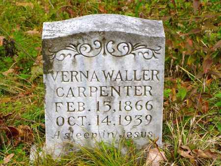 WALLER CARPENTER, VERNA - Claiborne County, Tennessee | VERNA WALLER CARPENTER - Tennessee Gravestone Photos