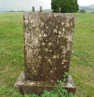 HURST, NELSON HENRY - Claiborne County, Tennessee | NELSON HENRY HURST - Tennessee Gravestone Photos
