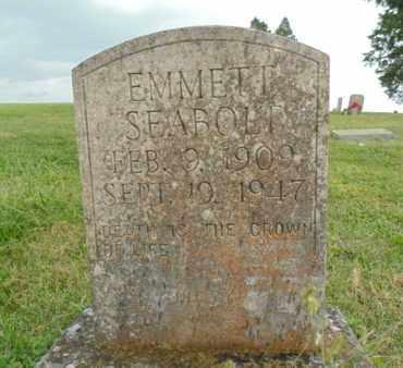 SEABOLT, EMMETT - Claiborne County, Tennessee   EMMETT SEABOLT - Tennessee Gravestone Photos