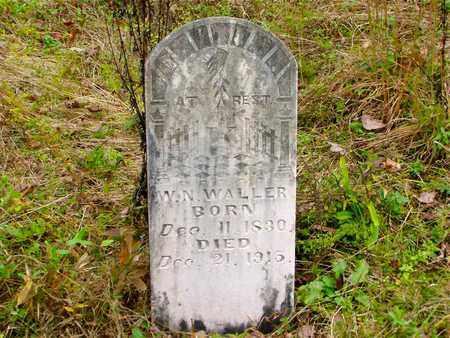 WALLER, WILLIAM NELSON - Claiborne County, Tennessee   WILLIAM NELSON WALLER - Tennessee Gravestone Photos