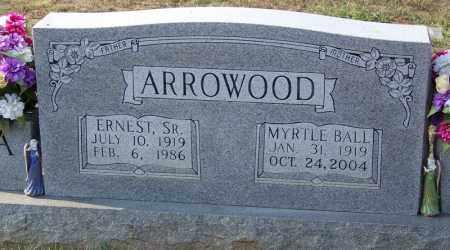 ARROWOOD, ERNEST (SR.) - Cocke County, Tennessee | ERNEST (SR.) ARROWOOD - Tennessee Gravestone Photos