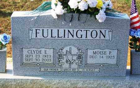 FULLINGTON, CLYDE E - Cocke County, Tennessee | CLYDE E FULLINGTON - Tennessee Gravestone Photos