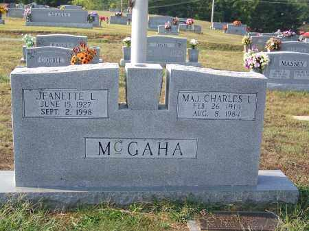 MCGAHA, JEANETTE L - Cocke County, Tennessee | JEANETTE L MCGAHA - Tennessee Gravestone Photos