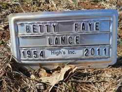 SMITH LANCE, BETTY FAYE - Coffee County, Tennessee | BETTY FAYE SMITH LANCE - Tennessee Gravestone Photos
