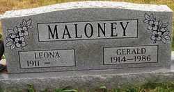 MALONEY, GERALD - Coffee County, Tennessee   GERALD MALONEY - Tennessee Gravestone Photos