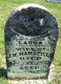 SMITH MANSFIELD, LAURA - Coffee County, Tennessee | LAURA SMITH MANSFIELD - Tennessee Gravestone Photos