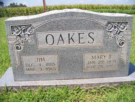 OAKES, MARY B. - Coffee County, Tennessee | MARY B. OAKES - Tennessee Gravestone Photos