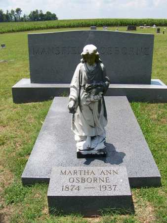 OSBORNE, MARTHA ANN - Coffee County, Tennessee | MARTHA ANN OSBORNE - Tennessee Gravestone Photos