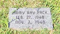 PACK, JIMMY RAY - Coffee County, Tennessee | JIMMY RAY PACK - Tennessee Gravestone Photos