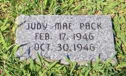 PACK, JUDY MAE - Coffee County, Tennessee | JUDY MAE PACK - Tennessee Gravestone Photos