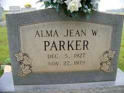 WOOTEN PARKER, ALMA JEAN - Coffee County, Tennessee | ALMA JEAN WOOTEN PARKER - Tennessee Gravestone Photos