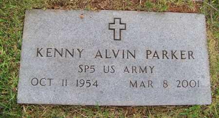 PARKER  (VETERAN), KENNY ALVIN - Coffee County, Tennessee | KENNY ALVIN PARKER  (VETERAN) - Tennessee Gravestone Photos