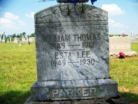PARKER, WILLIAM THOMAS - Coffee County, Tennessee | WILLIAM THOMAS PARKER - Tennessee Gravestone Photos