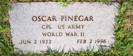 PINEGAR  (VETERAN WWII), OSCAR - Coffee County, Tennessee | OSCAR PINEGAR  (VETERAN WWII) - Tennessee Gravestone Photos