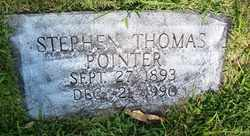POINTER, STEPHEN THOMAS - Coffee County, Tennessee | STEPHEN THOMAS POINTER - Tennessee Gravestone Photos