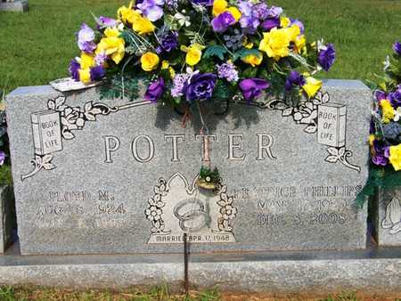 POTTER, FLOYD M. - Coffee County, Tennessee | FLOYD M. POTTER - Tennessee Gravestone Photos