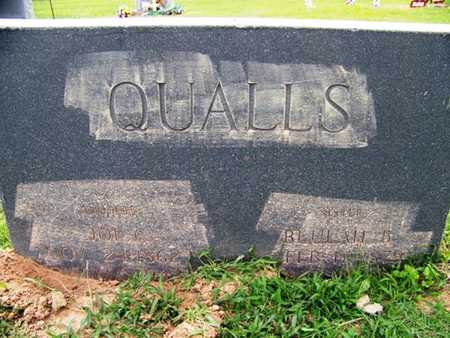 QUALLS, JOE CEPHAS - Coffee County, Tennessee | JOE CEPHAS QUALLS - Tennessee Gravestone Photos