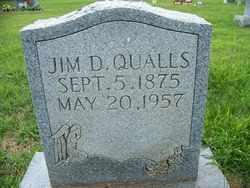 QUALLS, JIM DILLARD - Coffee County, Tennessee | JIM DILLARD QUALLS - Tennessee Gravestone Photos