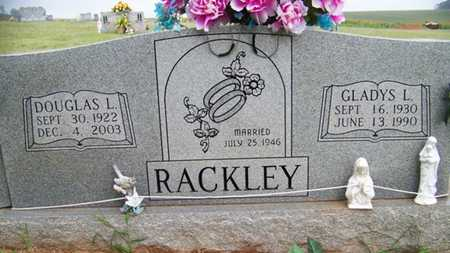 RACKLEY, DOUGLAS L. - Coffee County, Tennessee | DOUGLAS L. RACKLEY - Tennessee Gravestone Photos
