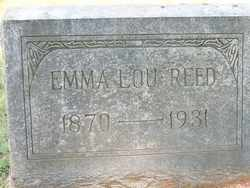 REED, EMMA LOUELLA - Coffee County, Tennessee | EMMA LOUELLA REED - Tennessee Gravestone Photos