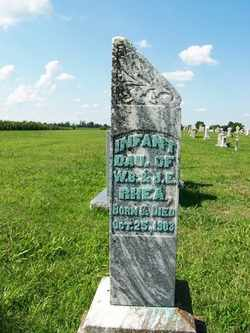 RHEA, INFANT DAUGHTER - Coffee County, Tennessee | INFANT DAUGHTER RHEA - Tennessee Gravestone Photos