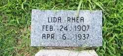 RHEA, LIDA - Coffee County, Tennessee | LIDA RHEA - Tennessee Gravestone Photos