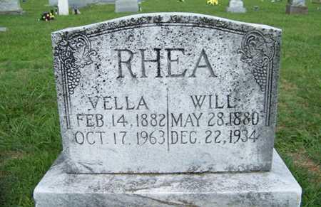 RHEA, NORVELLA - Coffee County, Tennessee | NORVELLA RHEA - Tennessee Gravestone Photos
