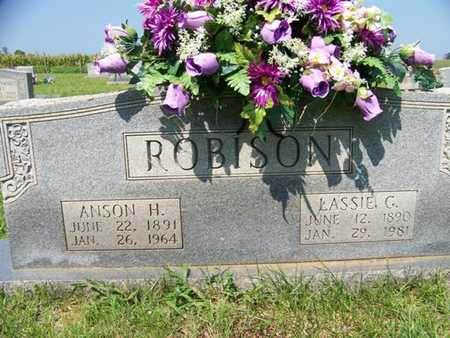 ROBISON, LASSIE - Coffee County, Tennessee | LASSIE ROBISON - Tennessee Gravestone Photos