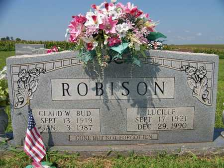 ROBISON, LUCILLE - Coffee County, Tennessee | LUCILLE ROBISON - Tennessee Gravestone Photos
