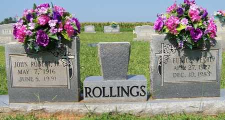 HIGGINS ROLLINGS, EUNICE PEARL - Coffee County, Tennessee | EUNICE PEARL HIGGINS ROLLINGS - Tennessee Gravestone Photos
