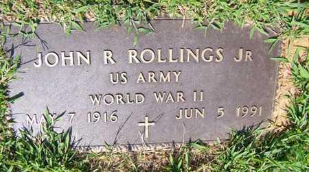 ROLLINGS  (VETERAN WWII), JOHN ROBERT JR - Coffee County, Tennessee | JOHN ROBERT JR ROLLINGS  (VETERAN WWII) - Tennessee Gravestone Photos